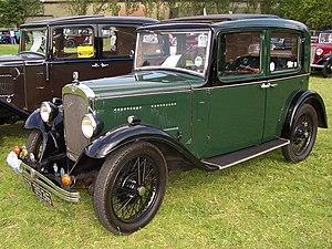 Austin 10 - 4-door saloon first registered 17 June 1932