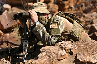 Joint terminal attack controller - An Australian Army JTAC in 2016