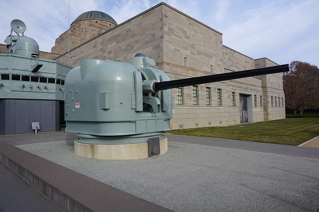 HMAS Brisbane (D 41) Gun Mount