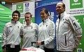 Austrian Olympic Team 2012 a Tan Chung Seang, Michael Lahnsteiner, Simone Prutsch, John Dinesen.jpg