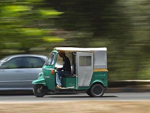 Transport in Pakistan - Due to increasing environmental no issues with older rickshaws, the government has heavily invested in greener, more fuel-efficient rickshaws