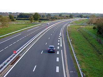 A71 autoroute - A71 autoroute near Saint-Amand-Montrond to Clermont-Ferrand