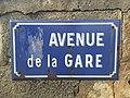 Avenue de la gare - plaque.jpg