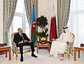 Azerbaijani President, Emir of Qatar had one-on-one meeting, 2017 04.jpg