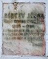 Bárczy János plaque (Szentendre Bogdányi út 30).jpg