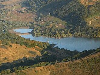 Sângeorgiu de Pădure - The Bezid (Bözöd) artificial lake