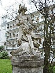 Estatua de Sigurd, en Bremen.