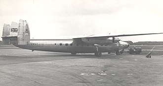 Airspeed Ltd. - Airspeed Ambassador in service with British European Airways in 1953