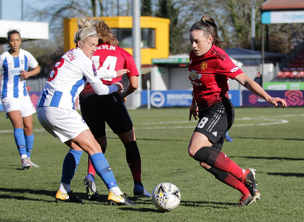 BHA Women 0 Man Utd Women 2 WFAC 4th rd 03 02 2019-522 (46986308681).jpg