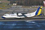 "B & H Airlines ATR ATR-72-212 T9-AAE ""Mostar"" (26165806503).jpg"