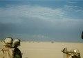 B Company, 1st Battalion, 3rd Marines at Al-Burgan Oil Field, Kuwait in Gulf War, February 1991.tif
