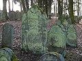 Bad Rappenau - Heinsheim - Jüdischer Friedhof - Grabstein mit Rocaille 1.jpg
