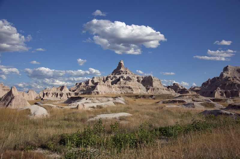 Badlands National Park, South Dakota, 04594u