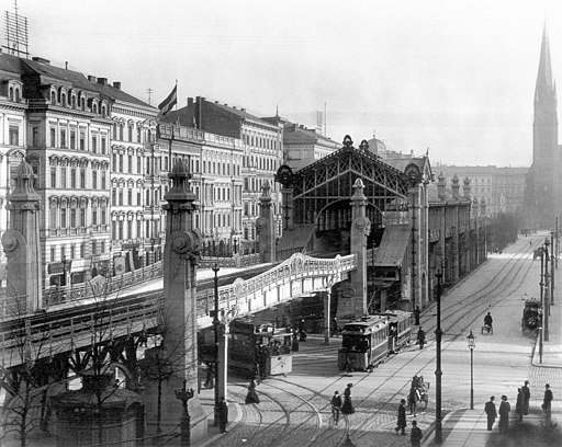 Bahnhof Bülowstraße Berlin 1902