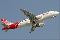 Bahrain Air Airbus A320-200 KvW.jpg
