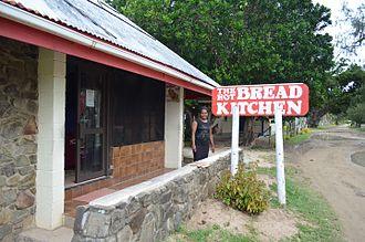 Lomaloma - Bakery on Lomaloma, Vanua Balavu, Fiji.