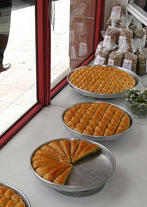 Baklava_and_Pistachios_for_Sale_-_Gaziantep