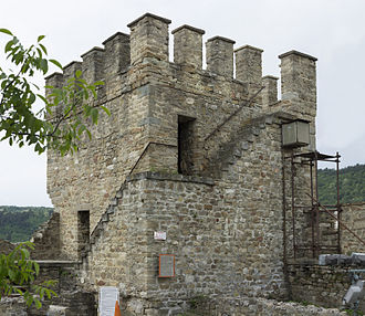Baldwin I, Latin Emperor - Baldwin's Tower in the Tsarevets castle, Veliko Tarnovo, Bulgaria