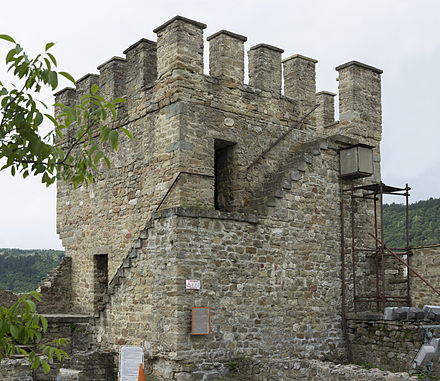 Baldwin's Tower in the Tsarevets castle, Veliko Tarnovo, Bulgaria - Baldwin I of Constantinople