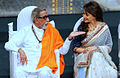 Bal Thackeray and Madhuri Dixit at 70th Master Dinanath Mangeshkar Awards (4).jpg