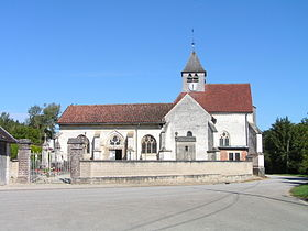 L'église Saints-Pierre-et-Paul.