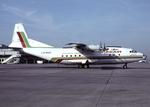 Balkan Bulgarian Airlines Cargo An-12B LZ-BAC DUS 1998-7-20.png