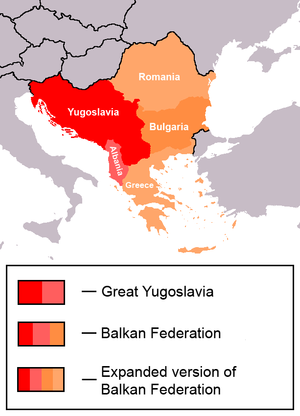 Albania–Serbia relations - Communist project of post-war Balkan Federation.