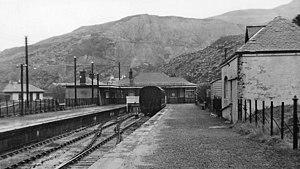 Ballachulish railway station - Ballachulish railway station in 1961