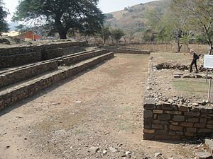 Amatepec - San Miguel Ixtapan, ballgame court