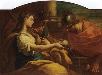 Arianna in Creta -  Ariadne and Theseus