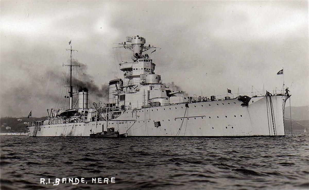 Italian Cruiser Giovanni Delle Bande Nere Wikipedia