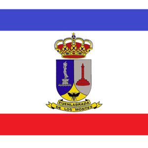 Fuenlabrada de los Montes - Image: Bandera de Fuenlabrada DELOS Montes