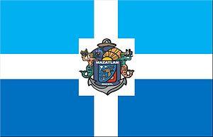 Mazatlán - Image: Bandera de mazatlan