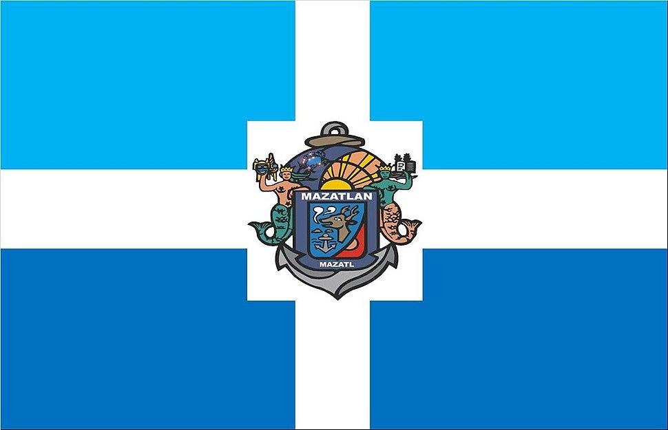 Flag of Mazatlán