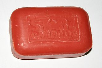 Carbolic soap - Bar of carbolic soap