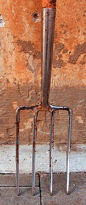Garden fork wikipedia for Gardening tools wikipedia