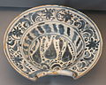 Barber's bowl, Teruel, Spain, 18th century AD, ceramic - Museo Nacional de Artes Decorativas - Madrid, Spain - DSC08230.JPG