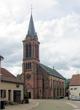 Barembach - The Church of Saint-Georges