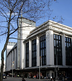 former department store in London