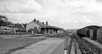 Devon and Somerset Railway - Barnstaple station in 1964