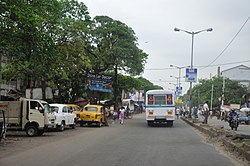 Barrackpore Trunk Road at Khardaha