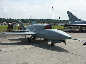 Unmanned combat aerial vehicle - The EADS Barracuda on the Manching Air Base in Germany