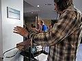 Barrett playing theremin @ Moogfest 2012.jpg