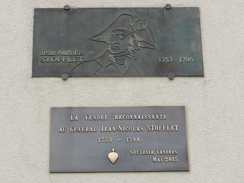 Bathelémont (M-et-M) plaques général Jean-Nicolas Stofflet