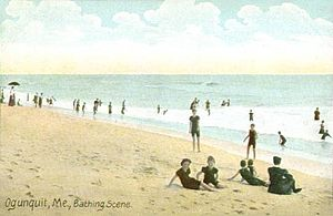 Ogunquit - Image: Bathing Scene, Ogunquit, ME