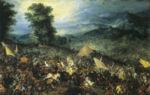 La bataille de Gaugamèles  , par Jan Brueghel l Ancien
