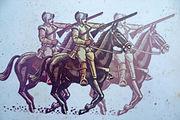 Battle of Inverkeithing motif