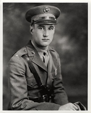 Harold W. Bauer - Image: Bauer HW USMC