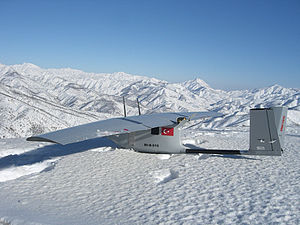 Bayraktar Mini UAV - Bayraktar snow condition