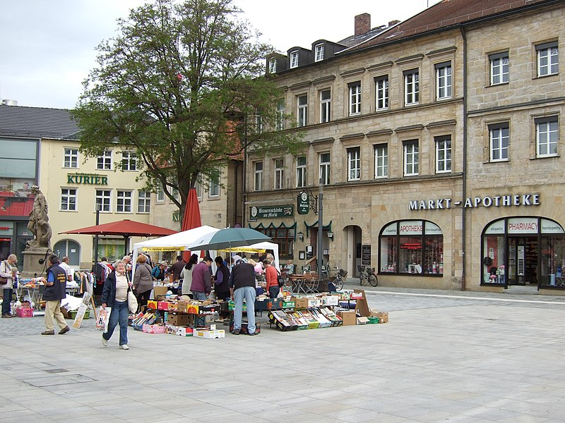 datei bayreuth westlicher markt jpg wikipedia. Black Bedroom Furniture Sets. Home Design Ideas